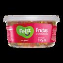 Frutas Cristalizadas Feliz Sem Glúten Cubos Pote 150g